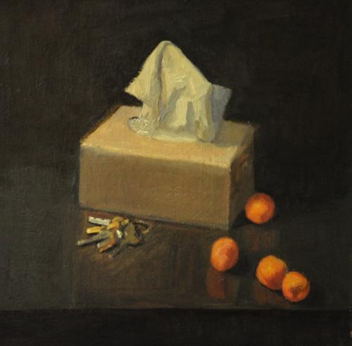 Still life with tissues