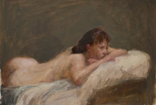 Reclining nude #2