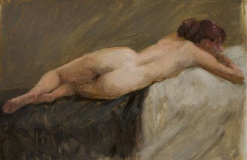 Reclining nude #1
