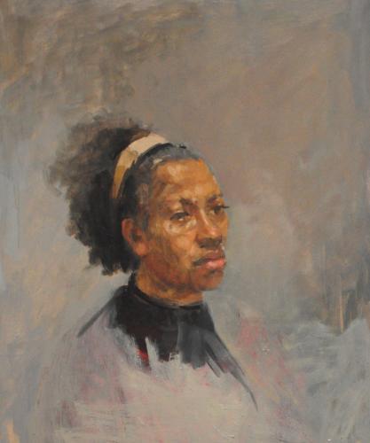 Portrait study (Heather)
