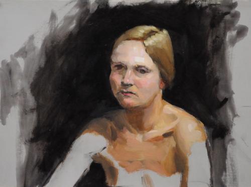 Portrait study (Rita)