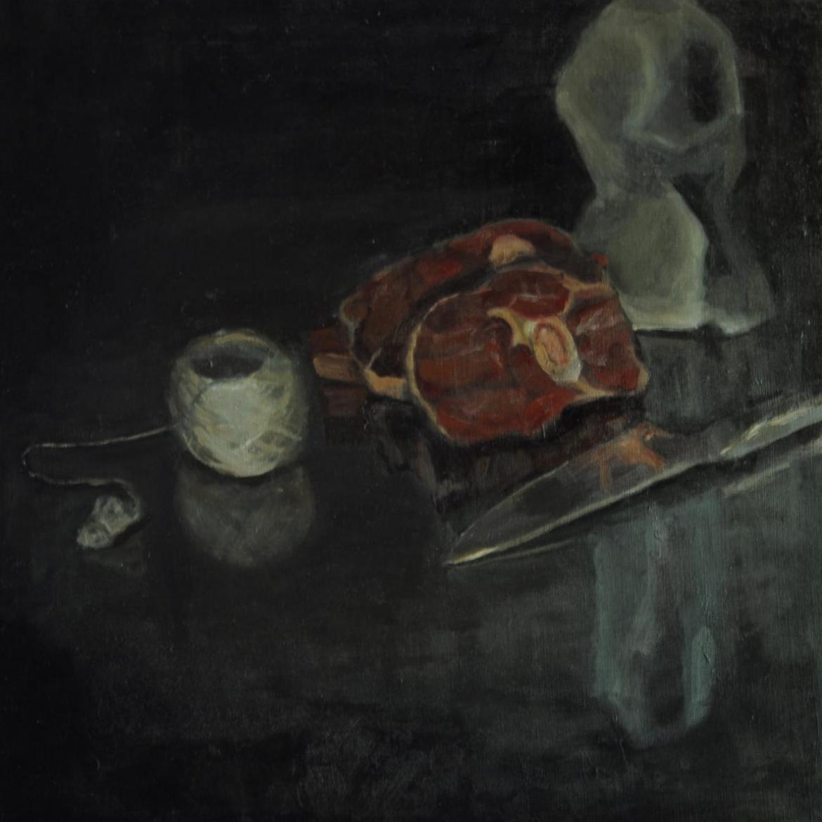 Still life with meat