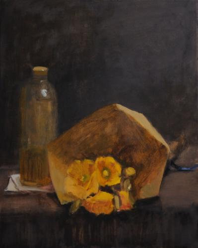 Still life with oil